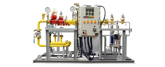 Pressure Reducing Systems / Gas Trains